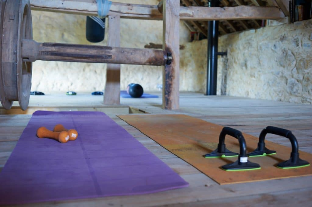 Visual Of The Yoga Space For Hire, Alongside The Millwheel